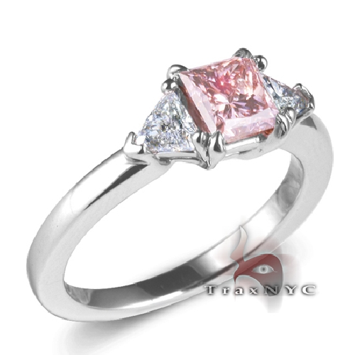 pink princess cut ring 1 50ct ebay