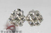 VS Floweret Studs Mens Diamond Earrings