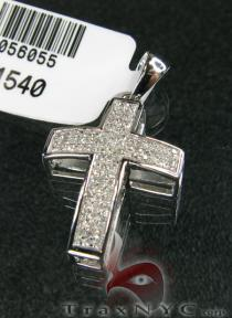 Mini Enthusiast Cross Mens Diamond Cross