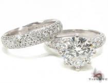 Lux Platinum Engagement Set 結婚指輪 ダイヤモンド セット