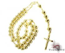 Medieval Rosary Beads 2 Diamond Gold Rosary Chains