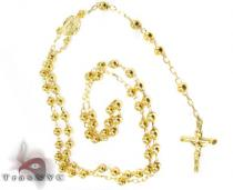 Medieval Rosary Beads 5 Diamond Gold Rosary Chains