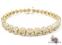Y.G Flower Bracelet ダイヤモンド ブレスレット