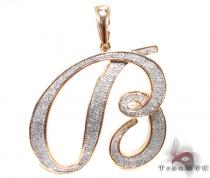 B Pendant Diamond Pendants