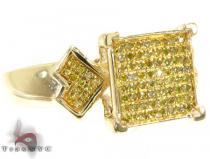 YG All Canary Ring カラー ダイヤモンド リング