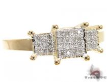14K Yellow Gold Diamond Lola Ring Womens Diamond Rings