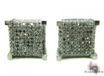 Black Ice Cube Earrings Featured Earrings