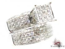 WG Sophia Wedding Ring Set Diamond Wedding Sets