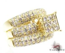 YG Hannah Wedding Ring Set Diamond Wedding Sets