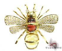 Authentic Bee Pendant ダイヤモンドペンダント