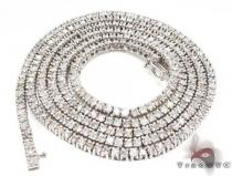 Stunner Chain 32 Inches, 4mm, 43.80 Grams ダイヤモンド チェーン