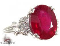 Gloria Ruby Ring ジェムストーン ダイヤモンド リング