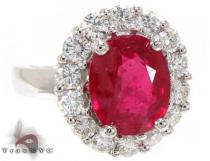 Ruby Island Ring ジェムストーン ダイヤモンド リング