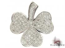 Diamond Shamrock Pendant Diamond Pendants