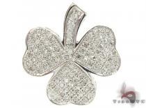 Diamond Shamrock Pendant Stone