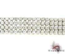 Ladies 4 Row Toni Bracelet Diamond