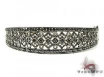 Ladies Black Gold & Black Diamond Bracelet  Diamond