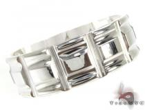Mens Cheap Barred Stainless Steel Ring Stainless Steel Rings