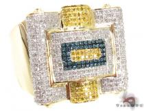 Multi Color Octi Ring 2 Mens Diamond Rings
