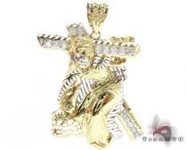 Small Crucifix Crossion Pendant ゴールド ペンダント