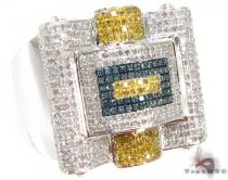 Multi Color Octi Ring Mens Diamond Rings