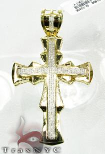 Mount Cross Mens Diamond Cross