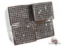 Black Diamond Quadrant Ring 2 Stone