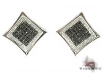 Black Diamond Aster Earrings Mens Diamond Earrings