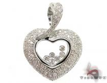 Czar Heart Pendant Diamond Pendants