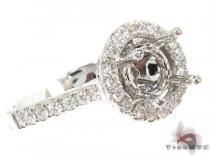 Wonderland Semi Mount Ring Engagement