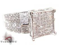 WG Solstice Ring Diamond Wedding Rings