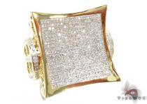 New Millenium Yellow Ring Stone