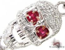 Custom Jewelry - Diamond Skull Bracelet 2 Mens Diamond Bracelets