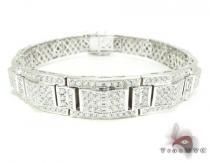 WG Pave Cosmos Bracelet Mens Diamond Bracelets