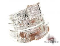 Allure Wedding Set 結婚指輪 ダイヤモンド セット