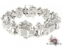 WG Kingdom Bracelet Mens Diamond Bracelets