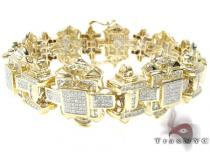 YG Kingdom Bracelet Mens Diamond Bracelets
