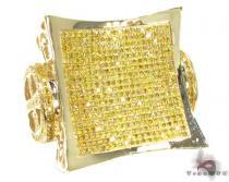 XXL Canary Ring Mens Diamond Rings