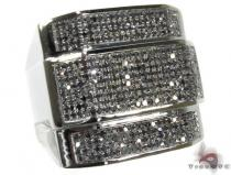 BG Black Diamond Colossal Ring Mens Black Diamond Rings