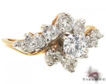 YG Flower Bouquet Ring ダイヤモンド 婚約 結婚指輪