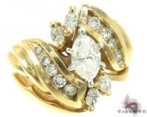 YG Marquise Ring ダイヤモンド 婚約 結婚指輪