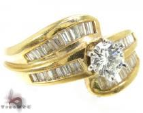 Lovely Baguette Ring ダイヤモンド 婚約 結婚指輪