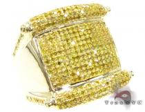 Canary Harp Ring Mens Diamond Rings