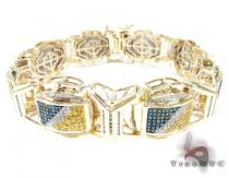 Multi Color Spider Bracelet Mens Diamond Bracelets