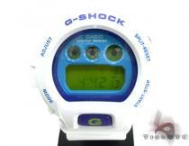 White & Blue G-Shock Watch DW6900CS-7 G-Shock