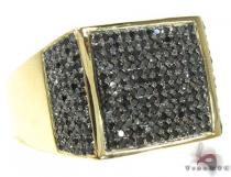 YG Black Diamond Fury Ring Mens Black Diamond Rings