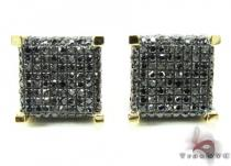 YG Black Diamond Ice Cube Earrings Featured Earrings