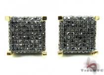 YG Black Diamond Ice Cube Earrings Featured Earrings