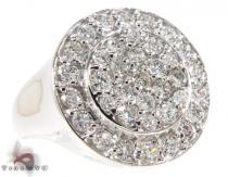 Confucius Ring メンズ ダイヤモンド リング