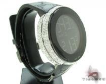 Fully Iced Digital Black Super Gucci Watch Gucci グッチ